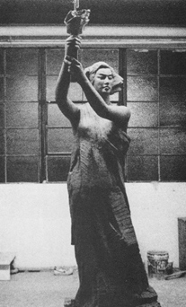 Thomas Marsh, Replica of Goddess of Democracy, 1990